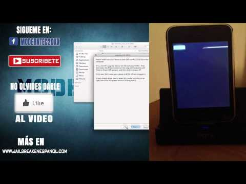 Solucion Al Error 1015 Iphone 3g 4.2.1 Itunes activacion [#2] video
