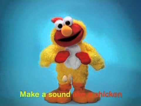 Sesame Street Chicken Dance Elmo At Mattel's Toylab video