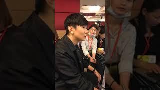 林俊傑JJ Lin 2018金曲獎慶功宴 平面媒體聯訪