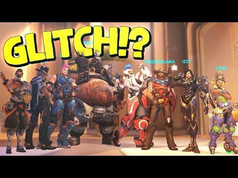 12 vs.12 OVERWATCH GLITCH! (Overwatch Exploit)