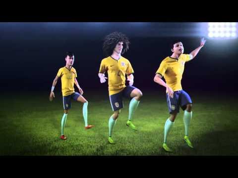 Celebrate in Brasilian style with Neymar Jr., David Luiz & Thiago Silva