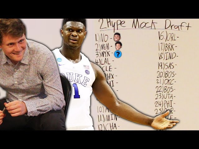 THE FIRST ANNUAL 2HYPE NBA MOCK DRAFT! thumbnail
