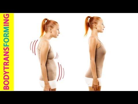 Видео как научиться держать осанку