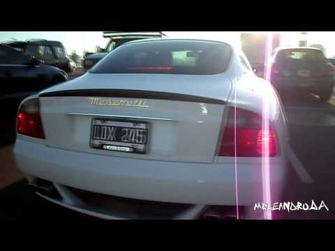 Maserati Gransport With Tubi Exhaust Brutal Acelerations (desafio Froilan Gonzalez) Argentina [hd] video