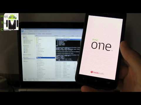 How To Flash Rom Custom (2 Files) Boot.img - HTC One