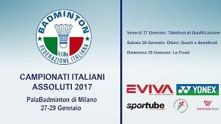 Campionati Italiani Assoluti 2017 - 29 gennaio Le Finali