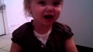 """Cute Baby Singing """"You Are My Sunshine"""""""