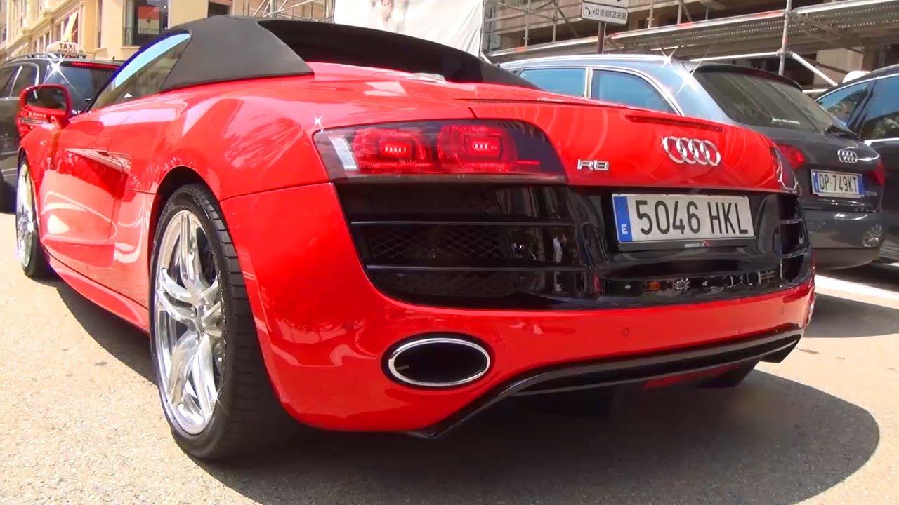 Audi R8 Matte Blue