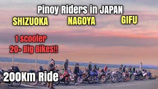 Pinoy Riders in JAPAN   Ganito na pala kami kadami dito?