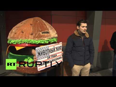 Russia: Sanction McDonalds and deport the hamburger - health activists