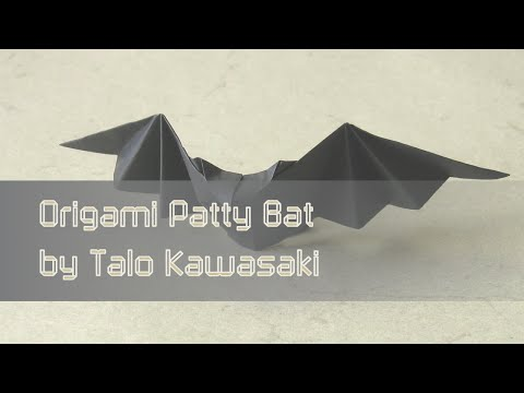 Origami Bat Diagram Diagrams Patty Bat |