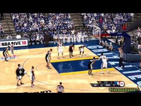 NBA Playoffs 2013 West Finals - San Antonio Spurs vs Memphis Grizzlies - 2nd Qrt - NBA Live 13 - HD