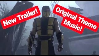 Mortal Kombat 11 W/ Klassic Original Theme Music - HD