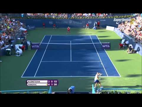 Ana Ivanovic vs Svetlana Kuznetsova Cincinnati 2014 Highlights.