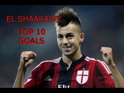 Stephan El Shaarawy || Top 10 Goals for AC Milan ||