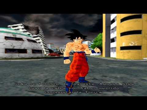 Goku VS Lord Slug Mode Story (Remake) - Dragon Ball Z Budokai Tenkaichi 4 (Beta2)