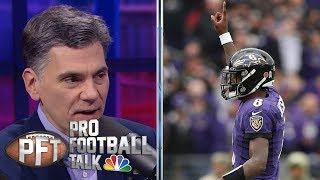 Lamar Jackson shines as Baltimore Ravens dominate Houston Texans | Pro Football Talk | NBC Sports