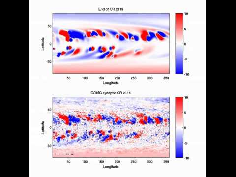 Flux transport simulation for solar cycle 24