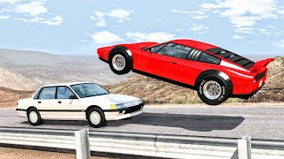 High Speed Traffic Crashes #8 - BeamNG Drive   CrashBoomPunk