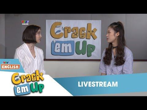 VTV7 | Crack 'em up | Livestream giao lưu với Khánh Vy & cô Liesel