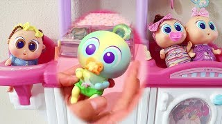 Koloreenies Baby Doll Play ! Toys and Dolls Fun for Kids Playing with Baby Doll Nursery | SWTAD