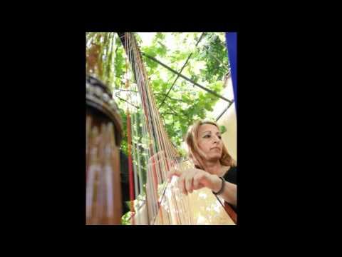 """Maria Elena Bovio """"Esotismo in musica"""""""" G.Faurè Impromptu per arpa op.86.wmv"""