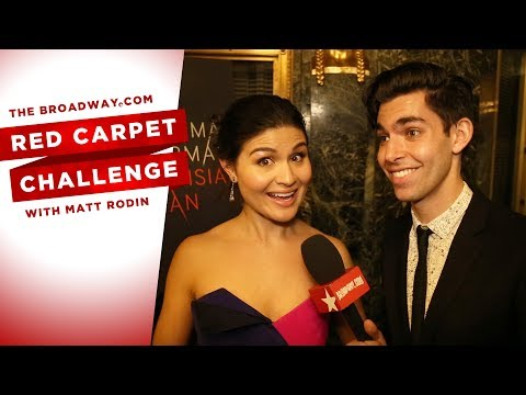 RED CARPET CHALLENGE: THE PARISIAN WOMAN with Uma Thurman, Phillipa Soo and more! thumbnail
