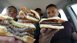 Eating WHATABURGER For The First Time @hodgetwins