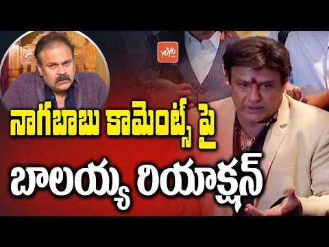 Balakrishna Reaction on Nagababu Comments | Nagababu Vs Balayya Controversy | YOYO TV Channel