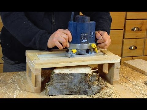 Simple Router Planer Jig: Woodworking