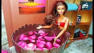 Hướng dẫn làm bồn tắm cho búp bê | DIY - How to Make a Doll Bath Tub