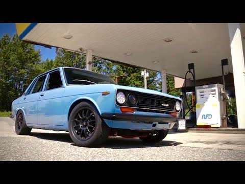 1969 Datsun 510 Track Car | Classic Japanese Motoring Done Right