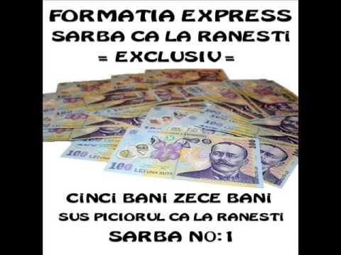 Mihai Geamanu' & Formatia Express - Cinci Bani, Zece Bani ( Sarba No.1 Ca La Ranesti) 2013 video