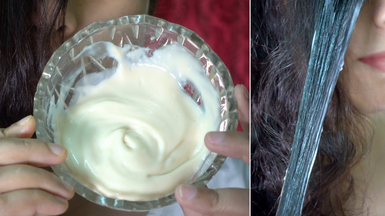 Secret Hair Mask to get Thick, Soft & Shiny Hair