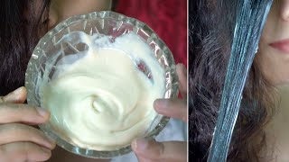 Secret Hair Mask to get Thick, Soft & Shiny Hair in 20 minutes | for Curly & Frizzy Hair