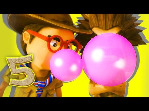 Око Леле - серия 5 - битва жвачками от KEDOO МУЛЬТФИЛЬМЫ для детей