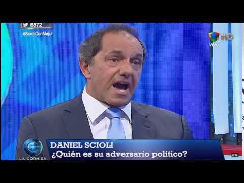 Scioli disparó contra Macri y Sanz