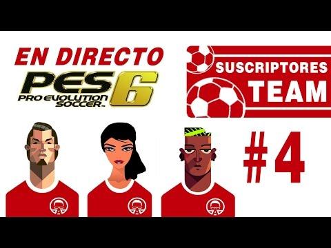 Suscriptores Team #4 || PES 6 || Pretemporada, renovaciones y primeras jornadas