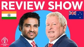 The Review LIVE - India v New Zealand | ICC Cricket World Cup 2019
