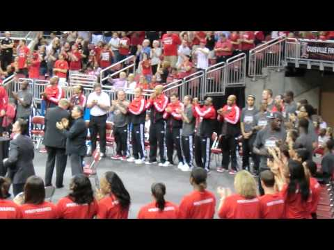 Louisville Cardinals Championship Celebration - 4/10/2013