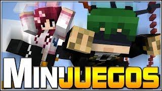 El poder de la fuerza!!! | Minecraft Minijuegos con @Dsimphony