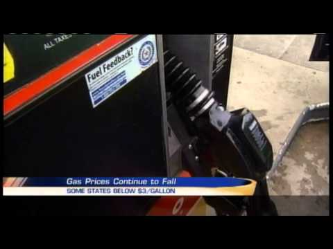 Gas prices continuing to fall