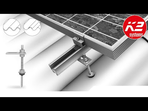 K2 Systems Rafter Bolt System Youtube