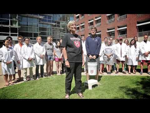 Harvard University President Drew Faust Takes ALS Ice Bucket Challenge