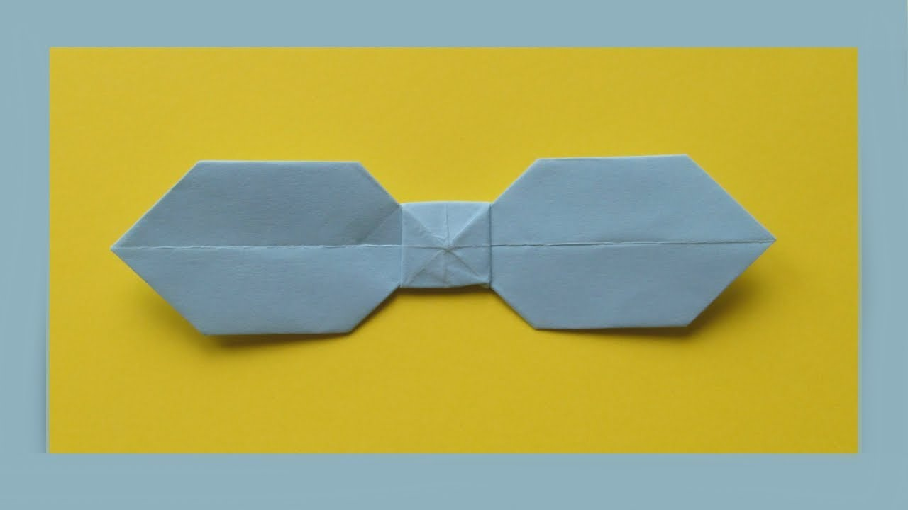 Сделать галстук из бумаги своими руками 29