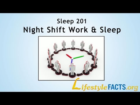 """Sleep 201 - Night shift work and sleep"" - Virginia Gurley, MD, MPH - LifestyleFACTS.org"