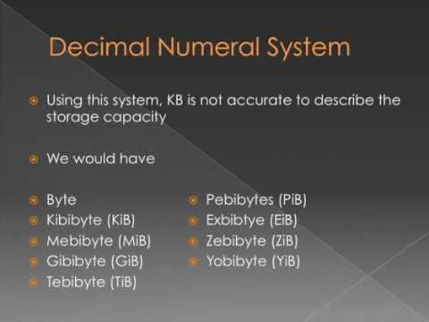 File Types and Sizes