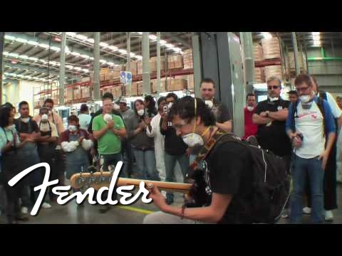 Ivan Barrera at Fender® Mexico