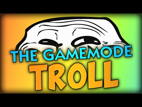 THE GAMEMODE TROLL - MAKING GHOST MAD xD (Minecraft)