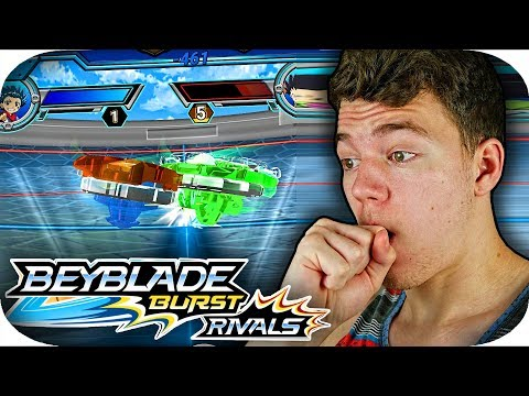 NEW Beyblade Burst RIVALS GAME!!! New Hasbro Mobile Game Gameplay Part 1